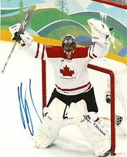 ROBERTO LUONGO SIGNED 8X10 PHOTO TEAM CANADA AUTOGRAPH