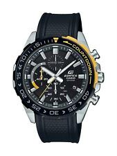 Casio Edifice Steel Black Resin Black Dial Mens Watch EFR-556PB-1AVUEF RRP £139