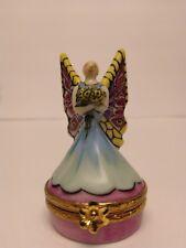 Rare Artoria Limoges Limited Edition Fairy Trinket box