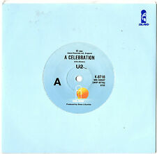 "U2 - A CELEBRATION - RARE 7"" 45 VINYL RECORD 1982"