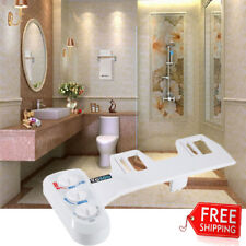 Fresh Water Spray Non Electric Mechanical Bidet Hot/Cold Toilet Seat Attachment