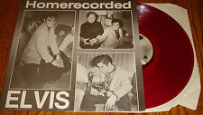 ELVIS PRESLEY HOME RECORDED COLORED VINYL LP STILL IN SHRINK PICTURE LABEL
