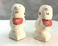 Vintage Ceramic Ducks Salt and Pepper Shakers