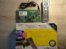 Win TV Nova HD-DVB S2 PCI Steckkarte mit FB. für SAT
