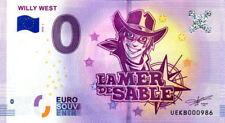 60 ERMENONVILLE Willy West, N° de la 10ème liasse, 2018, Billet 0 € Souvenir