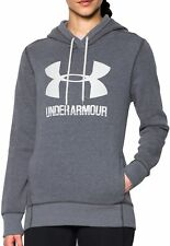 Under Armour Favourite Fleece Womens Pullover Hoody - Grey