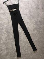 KOURTNEY KARDASHIAN Personally Worn Owned Naked Wardrobe Black Jumpsuit Small