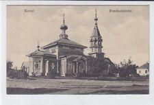 AK Kowel, Friedhofskirche, um 1910
