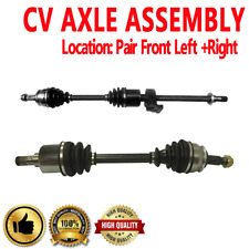PAIR FRONT LEFT & RIGHT CV DRIVE AXLE SHAFT ASSEMBLY For MINI COOPER 2002-2008