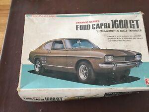 1:20 Scale Bandai's Plastic Model - Ford Capri 1600 GT - Motorised