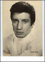 DDR Starfoto Television Cinema DEFA Film Schauspieler Actor 1968 Werner KANITZ
