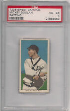 1909 T206 MICKEY DOOLAN BAT PSA 4 SWEET CAPORAL 350 460 SUB FACT 42 OVERPRINT