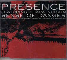 Presence-Sense of Danger cd maxi single