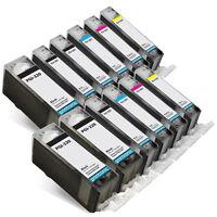 12PK Canon Ink Cartridges for PIXMA MP980 MP990 MX860 MX870 CLI-221 PGI-220