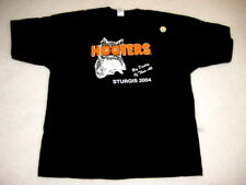 2 XXL HOOTERS Big Daddy UNIFORM T-SHIRT STURGIS from all Harley biker show RARE