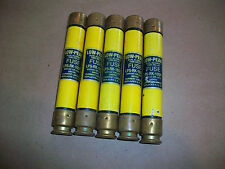 5pc Buss Low Peak Yellow Fuse LPS-RK-10SP       USED