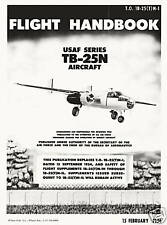 NORTH AMERICAN TB-25N MITCHELL - FLIGHT HANDBOOK