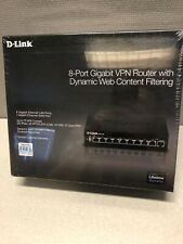 D-Link DSR-250 8-Port Gigabit VPN Router w/ Dynamic Web Content Filtering (NEW)