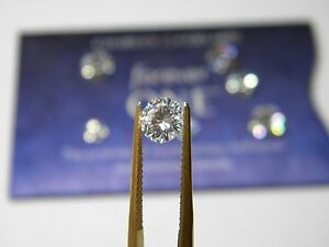 Forever One New Moissanite 6.5mm Rnd 1 ct  Loose Charles Colvard Colorless D E F
