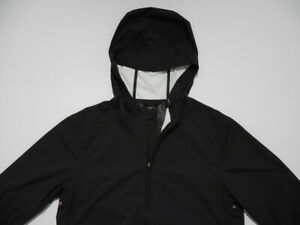 Levi's Commuter Pro Packable Windbreaker Light Jacket Small Unisex 3M Black New