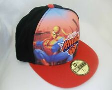New York Knicks NBA Fitted Hat Cap Marvel Heroes Spiderman Movie 59fifty New