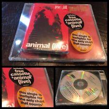 PEARL JAM~Go/Animal 1993 UK CD Cassette Tape Pack SEALED~grunge vedder nirvana
