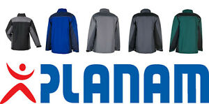 PLANAM Highline Winterjacke Arbeitsjacke - Größen: XS bis 5XL
