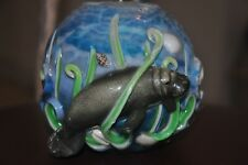 Manatee Candle Ball Shape 4 inches