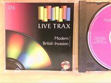 RARE CD COLLECTION LIVE TRAX / MODERN BRITISH INVASION / COMPOSED BY CONTE CONTE