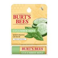 [BURT'S BEES] 100% Natural Beeswax Lip Balm Made in USA (CUCUMBER MINT) NEW