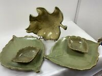 5 Lot Ceramic Chip & Dip, Condiments, Or Relish Dishes For Anytime Occasion.