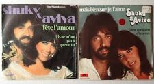 LOT DISQUES 45T SPECIAL SHUKY & AVIVA