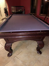 imperial international pool table 8ft Pool Table With Hanging Rack