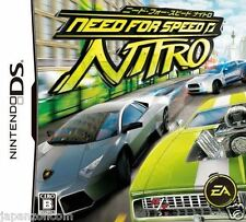 Used DS Need for Speed: Nitro NINTENDO JAPANESE IMPORT