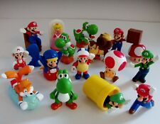 SUPER MARIO BROS & SONIC TAILS toy figure Bundle
