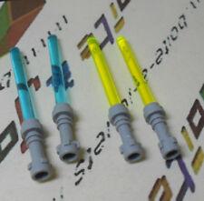 minifig Lego 4 sabres laser Star wars pour grievous 2x tr Neon green 2x tr Blue