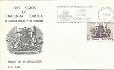 SPD FDC España Hacienda Pública y los Borbones Edifil# 2573 1980