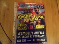 Amir Khan v Mohammed Medjadji boxing programme