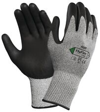 Ansell HyFlex® 11-435 Work Protection Gloves Grip PU Palm Coated Dyneema Cut 5