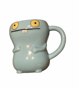 Ugly Doll by Pretty Ugly BABO #45005 Blue Ceramic Mug Cup 2010 Water Coffee Tea