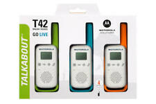 Motorola Talkabout T42 Two Way Radio (3 Pack) - GorillaSpoke, Free P&P EU & UK!