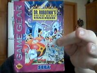 dr robotnik's sega game gear manual fair conditions check pics for full details