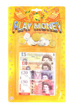 Pretend Fake Role Play Money Coins Notes Kids Toy Fun Learning Monopoly Set