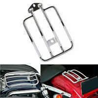 Solo Seat Fender Luggage Rack Chrome For Harley Sportster XL 883 1200 2004-2015