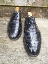 CHEANEY BROGUES – BLACK – UK 9 – VERY GOOD CONDITION