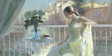 Volegov: Memories FILLE ROMANTISME terminé-image 50x100 la fresque Idylle