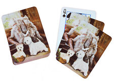 West Highland Terrier Westie Dog Pack Playing Deck of Cards Game Perfect Gift