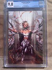 Uncanny X-Men 22 Jay Anacleto Cover Virgin Variant CGC 9.8 Marvel Comics 2019