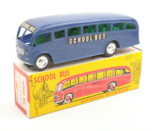 Vintage Mak's Hong Kong Plastic Friction School Bus No.2006S *BOXED*