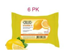 6 PK - Callas VITAMIN C Cleansing & Make up Remover 30 wipes Made in KOREA